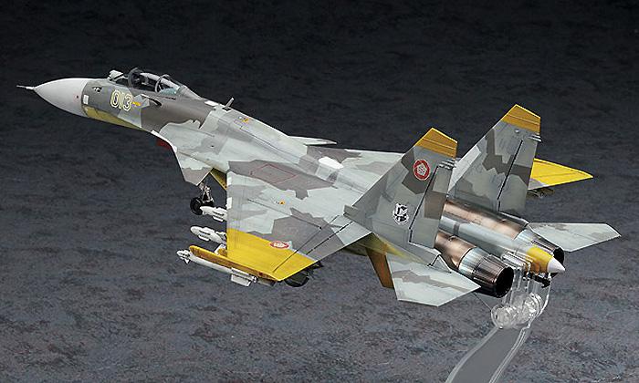 Su-33 フランカ-D エースコンバット 黄色の13プラモデル(ハセガワクリエイター ワークス シリーズNo.SP312)商品画像_3