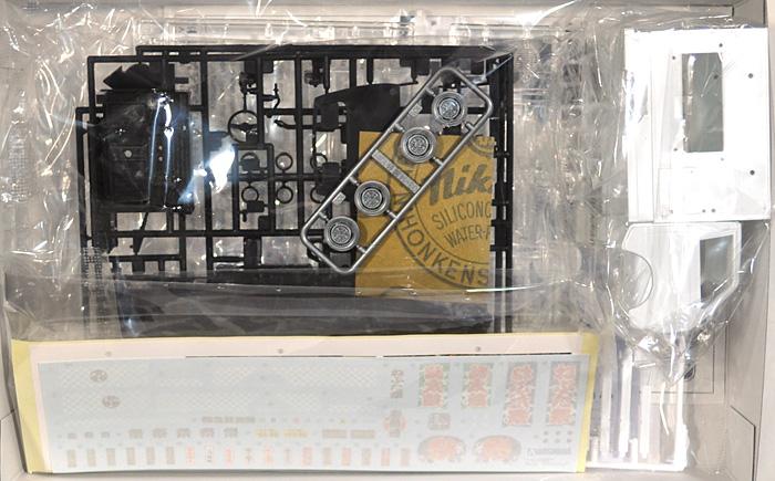 お祭りわっしょいプラモデル(アオシマ移動販売No.002)商品画像_1