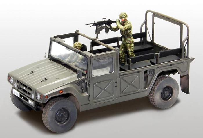 陸上自衛隊 高機動車 (機関銃装備)プラモデル(ファインモールド1/35 ミリタリーNo.FM041)商品画像_3