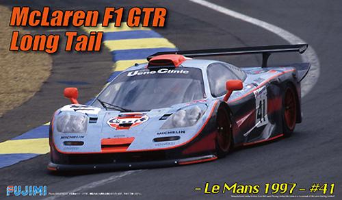 マクラーレン F1 GTR ロングテール ル・マン 1997 #41プラモデル(フジミ1/24 リアルスポーツカー シリーズNo.045)商品画像