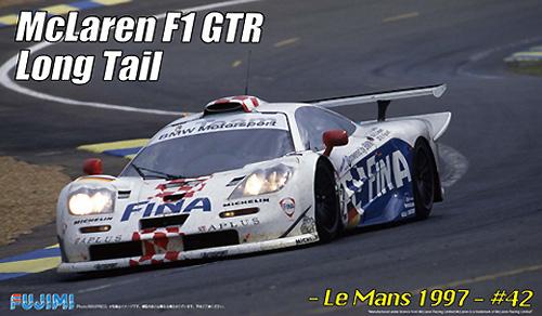 マクラーレン F1 GTR ロングテール ル・マン 1997 #42プラモデル(フジミ1/24 リアルスポーツカー シリーズNo.旧079)商品画像