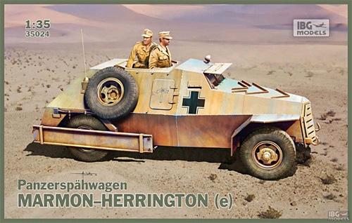 ドイツ マーモンヘリントン(e) 偵察装甲車プラモデル(IBG1/35 AFVモデルNo.35024)商品画像
