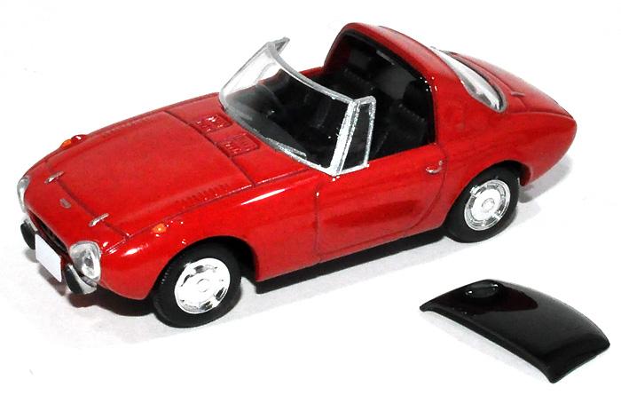 トヨタ スポーツ 800 (68年式) (赤)ミニカー(トミーテックトミカリミテッド ヴィンテージNo.LV-139a)商品画像_1