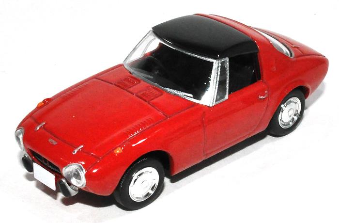 トヨタ スポーツ 800 (68年式) (赤)ミニカー(トミーテックトミカリミテッド ヴィンテージNo.LV-139a)商品画像_2
