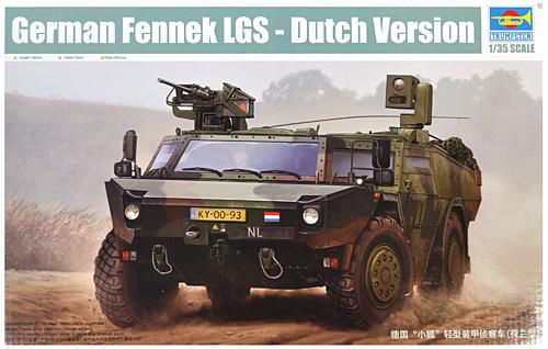 オランダ フェネック 軽装甲偵察車プラモデル(トランペッター1/35 AFVシリーズNo.05533)商品画像