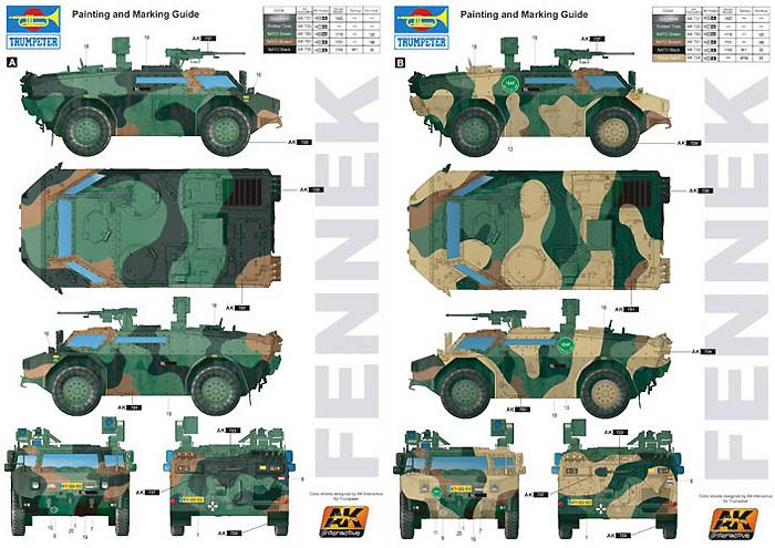 オランダ フェネック 軽装甲偵察車プラモデル(トランペッター1/35 AFVシリーズNo.05533)商品画像_1