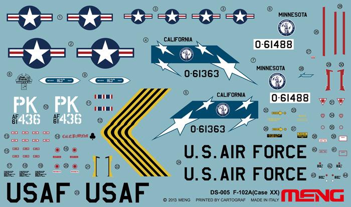 F-102A (ケースXX)プラモデル(MENG-MODELディモルフォドン シリーズNo.DS-005)商品画像_1