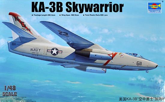 アメリカ海軍 KA-3B スカイウォーリアープラモデル(トランペッター1/48 エアクラフト プラモデルNo.02869)商品画像