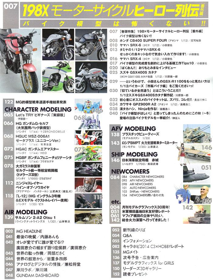 モデルグラフィックス 2014年11月号雑誌(大日本絵画月刊 モデルグラフィックスNo.360)商品画像_1
