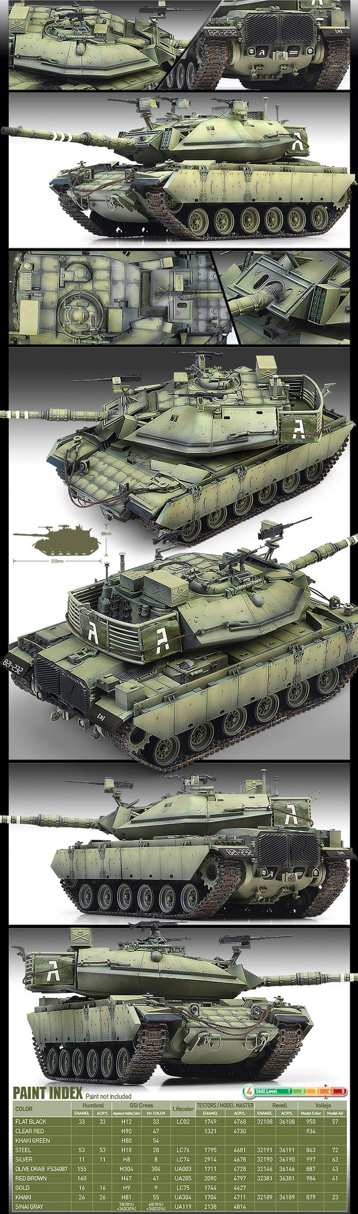 マガフ 6B ガル・バタシュプラモデル(アカデミー1/35 ArmorsNo.13281)商品画像_2
