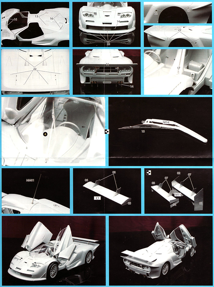 マクラーレン F1 GTR ロングテール 専用エッチングパーツエッチング(フジミディテールアップパーツNo.044)商品画像_3