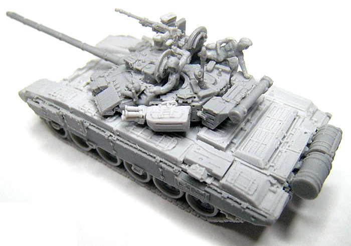 T-90 溶接砲塔型レジン(マツオカステン1/144 オリジナルレジンキャストキット (AFV)No.MTUAFV-061)商品画像_2