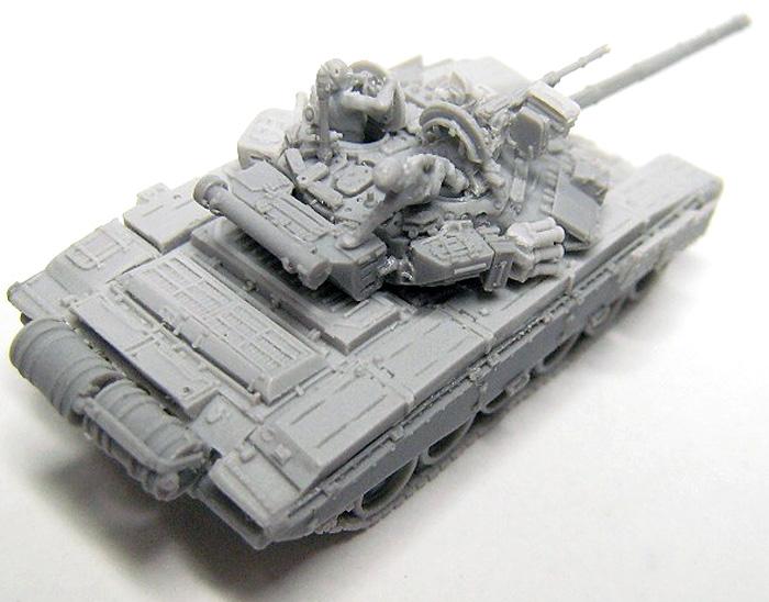 T-90 溶接砲塔型レジン(マツオカステン1/144 オリジナルレジンキャストキット (AFV)No.MTUAFV-061)商品画像_3