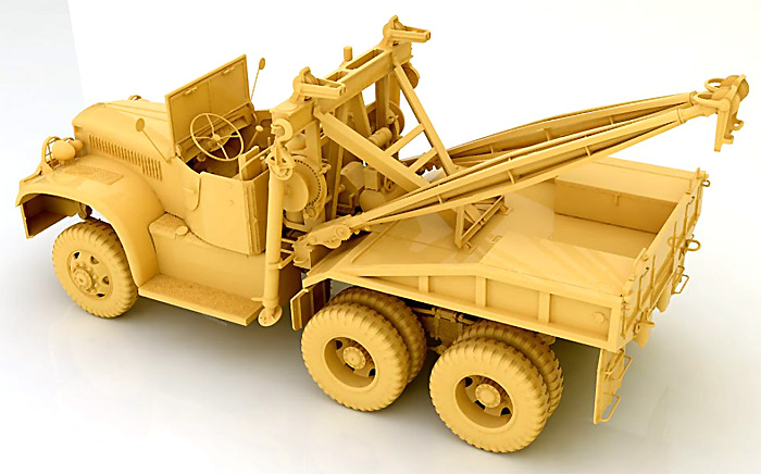 ダイヤモンド T969A レッカープラモデル(ミラーモデルズ1/35 AFVモデルNo.35801)商品画像_3