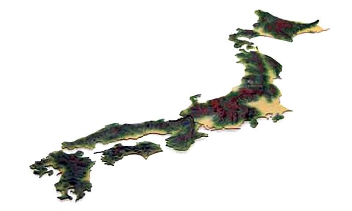 日本地図 くまモンプラモデル(フジミストラクチャー シリーズNo.500713)商品画像_3