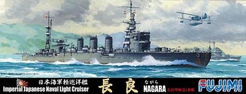 日本海軍 軽巡洋艦 長良プラモデル(フジミ1/700 特シリーズNo.102)商品画像