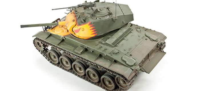 M24 チャーフィー 朝鮮戦争プラモデル(AFV CLUB1/35 AFV シリーズNo.AF35209)商品画像_3