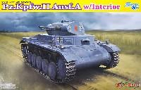 ドイツ 2号戦車 A型 w/インテリア