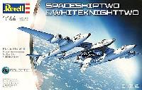 レベル1/144 飛行機スペースシップ 2 & ホワイトナイト 2