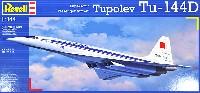 レベル1/144 旅客機ツポレフ Tu-144D