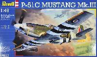 レベル1/48 飛行機モデルP-51B ムスタング Mk.3