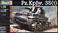 レベル1/35 ミリタリーPz.Kpfw.35(t) 戦車
