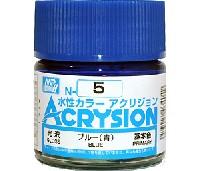 GSIクレオス水性カラー アクリジョンブルー (青) (光沢) (N-5)
