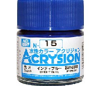 GSIクレオス水性カラー アクリジョンインディブルー (光沢) (N-15)