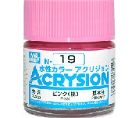 GSIクレオス水性カラー アクリジョンピンク (桃) (光沢) (N-19)