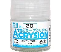 GSIクレオス水性カラー アクリジョンクリアー (透明) (光沢) (N-30)