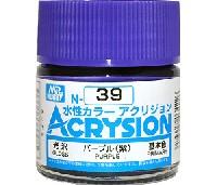 GSIクレオス水性カラー アクリジョンパープル (紫) (光沢) (N-39)