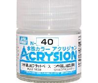 GSIクレオス水性カラー アクリジョンつや消し剤 フラットベース (つや消し用添加剤) (N-40)
