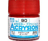 GSIクレオス水性カラー アクリジョンクリアーレッド (光沢) (N-90)