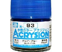 GSIクレオス水性カラー アクリジョンクリアーブルー (光沢) (N-93)