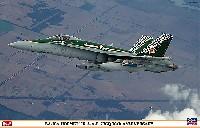 ハセガワ1/48 飛行機 限定生産F/A-18A ホーネット R.A.A.F. 77SQ 70周年記念塗装