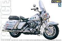 アオシマ1/12 ネイキッドバイクニューヨーク市警察 ポリスバイク