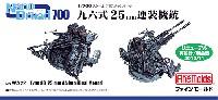ファインモールド1/700 ナノ・ドレッド シリーズ九六式 25mm 連装機銃