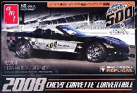 amt1/25 カーモデルシボレー・コルベット コンバーチブル 2008 インディ 500 ペースカー