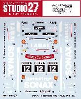 スタジオ27ツーリングカー/GTカー オリジナルデカールメルセデスベンツ 190E AMG-TABAC/SONAX #12 DTM 1993
