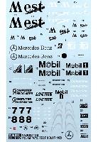 タブデザイン1/20 デカールマクラーレン MP4/13 テスト 1998
