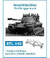 M48/M60/M88 T97E2型履帯
