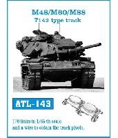 M48/M60/M88 T142型 履帯