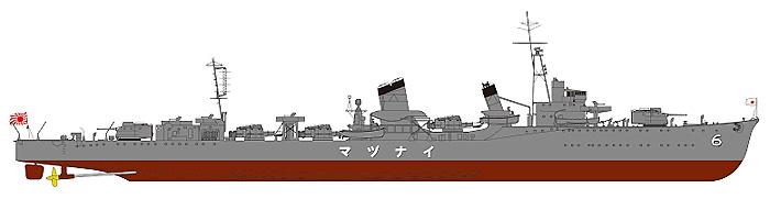 日本海軍 特(吹雪)型 駆逐艦 電 新装備セット付プラモデル(ピットロード1/700 スカイウェーブ W シリーズNo.SPW024)商品画像_1