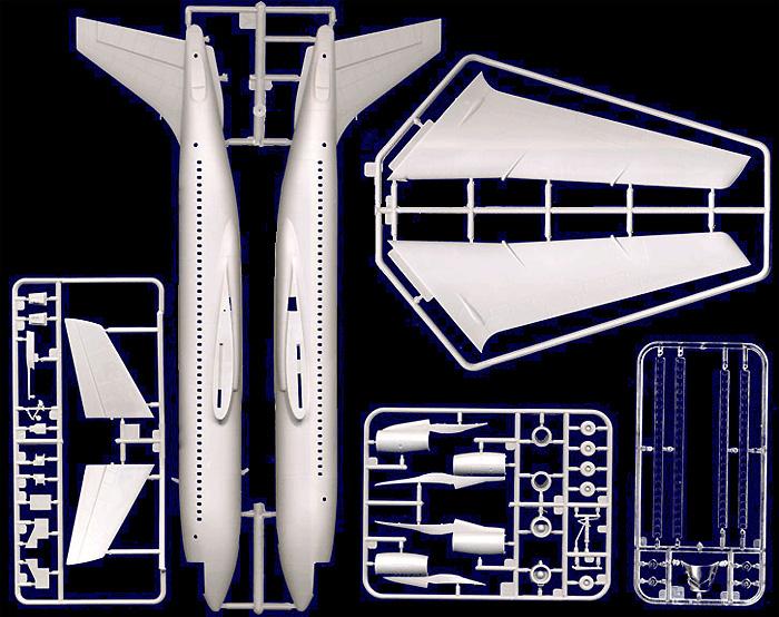 ボーイング 720 スターシップワンプラモデル(ローデン1/144 エアクラフトNo.314)商品画像_2