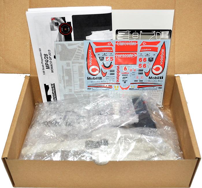 マクラーレン MP4-28 モナコGP 2013マルチメディアキット(モノポスト1/20 オリジナルレジンキットNo.MP025)商品画像_1