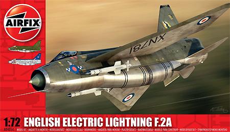 イングリッシュ エレクトリック ライトニング F2Aプラモデル(エアフィックス1/72 ミリタリーエアクラフトNo.A04054)商品画像