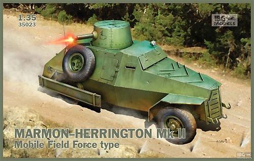 南アフリカ マーモンヘリントン Mk.2 四輪駆動装甲車プラモデル(IBG1/35 AFVモデルNo.35023)商品画像