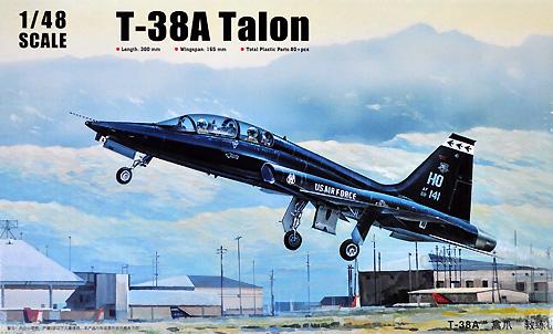 T-38A タロンプラモデル(トランペッター1/48 エアクラフト プラモデルNo.02852)商品画像