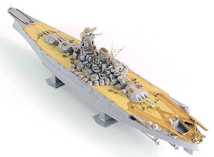 日本海軍 戦艦 大和用 ディテールアップパーツセットエッチング(ポントスモデル1/450 ディテールアップセットNo.45001F1)商品画像_2