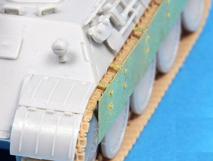 ドイツ パンター A/D型用 サイドスカートエッチング(アベール1/72 AFV用 エッチングパーツNo.72A002)商品画像_3